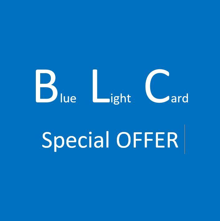 Blue Light Card Discount Offer